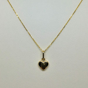 Jewelry - 14k Heart Pendant Yellow Gold 16inch
